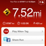 Nike Plus GPS App iPhone 1