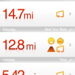 Nike Plus GPS App iPhone 5