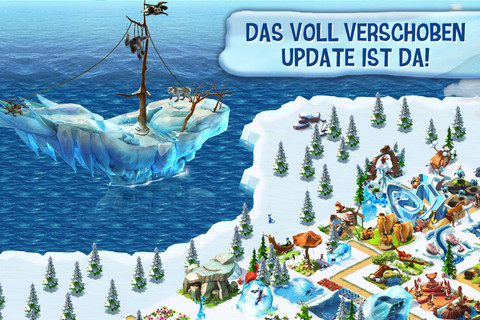 Ice Age Village Siedlung iPhone App 2