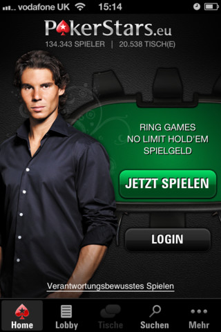 Pokerstars Mobile Poker App iPhone 1 Oktober 2012