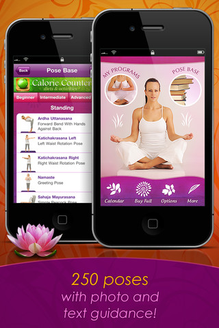 Yoga Free 250 Poses iPhone App 2012 2